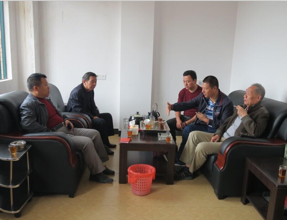 11月5日,雷火秘书处同志走访宁都分会。