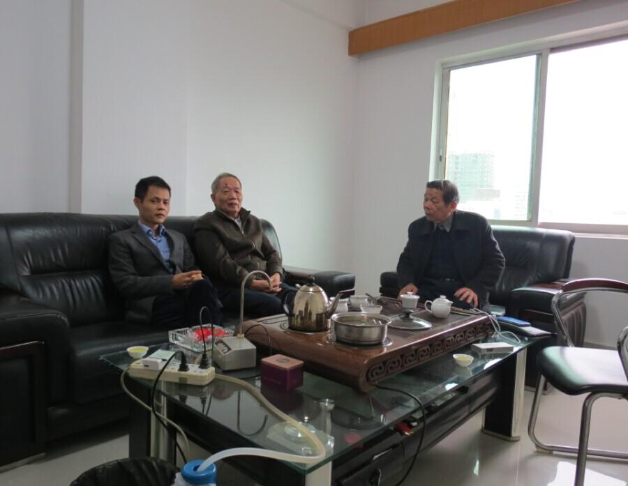 11月10日,雷火秘书处同走访会员企业赣州华兴肛肠专科医院。